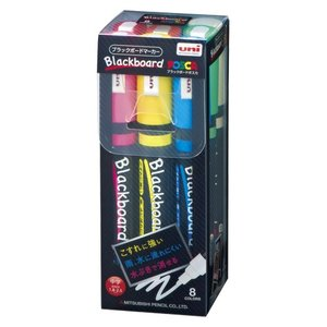 ブラックボードポスカ セット PCE-200-5M 8C 1セット 三菱鉛筆|meicho