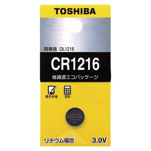 東芝 コイン型リチウム電池 CR1216EC meicho