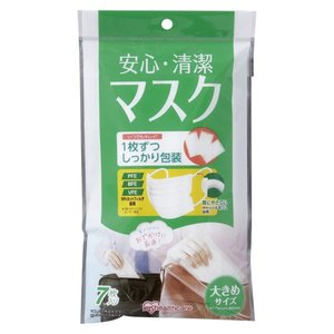 アイリスオーヤマ 安心・清潔マスク H-PK-AS7L meicho