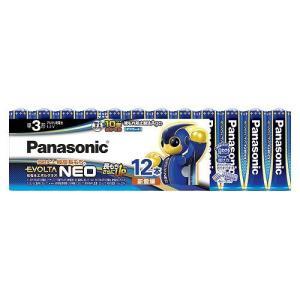 パナソニック アルカリ乾電池 エボルタネオ 単3形 12本 お買い得パック LR6NJ/12SW|meicho