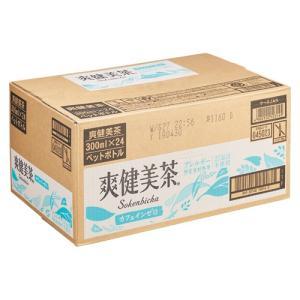 コカ・コーラ 爽健美茶 スッキリブレンド PET 17217 300mlX24|meicho