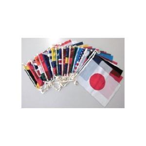 国旗 ビニール連続万国旗 20連セット 【 キャンセル/返品不可 】|meicho