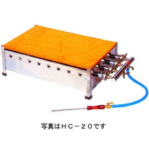 業務用ガス式ホットケーキ焼き器 磨鉄板タイプ メーカー直送/代引不可|meicho