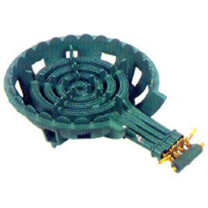 鋳物コンロ ガス式鋳物バーナーセット 四重コンロ|meicho