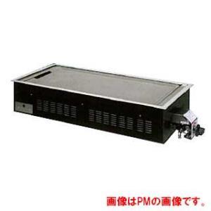 業務用ガス式お好み焼き用ユニット 9mmプレス鉄板タイプ 4枚焼 メーカー直送/代引不可|meicho