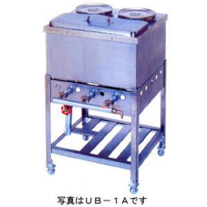 業務用ガス式うどん銅庫 バルブ式 せとつぼ付 メーカー直送/代引不可|meicho