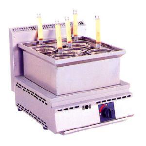ゆで麺器 ゆで麺機 業務用ガス式ゆで麺器 厨太くん うどん・そば用 メーカー直送/代引不可|meicho