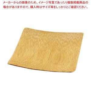 テーブルクラフト 使い捨て 角型プレート(48枚入)63×63 BAMDSBAM2 【ECJ】厨房消耗品 meicho
