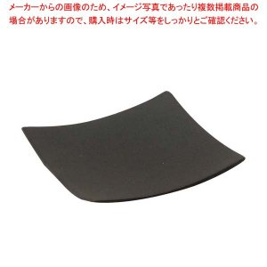 テーブルクラフト 使い捨て 角型プレート(48枚入)63×63黒 BAMDSBK2 【ECJ】厨房消耗品 meicho