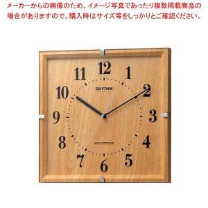リズム 電波掛時計 ライブリーエミリ 8MY502SR07【 メーカー直送/代金引換決済不可 】 meicho