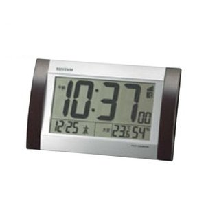 リズム 掛・置兼用電波時計 フィットウェーブD169 8RZ169SR23【 メーカー直送/代金引換決済不可 】 meicho