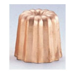 銅カヌレ型 小