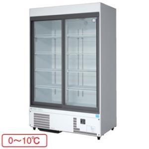 福島工業 フクシマ 冷凍機内蔵型 リーチインショーケース 幅1200mm 奥行650mmタイプ MSS-120GHWSR meicho