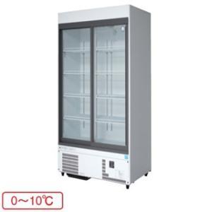 福島工業 フクシマ 冷凍機内蔵型 リーチインショーケース 幅900mm 奥行450mmタイプ MSU-090GHWSR meicho