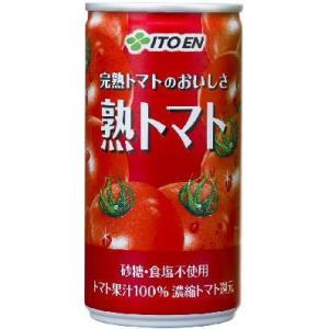 伊藤園 濃い熟トマトS 190g×6本