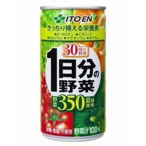 伊藤園 1日分の野菜 缶 190g×30本|meicho