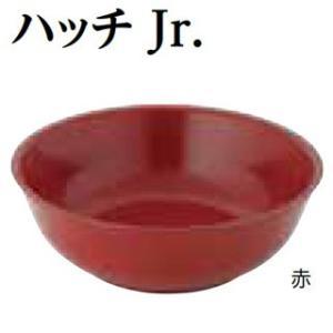 メタル丼 ハッチ 21cm ハッチJr. ステンレス 赤|meicho