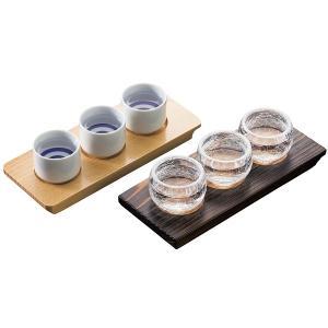 利き酒トレイ 焼杉|meicho