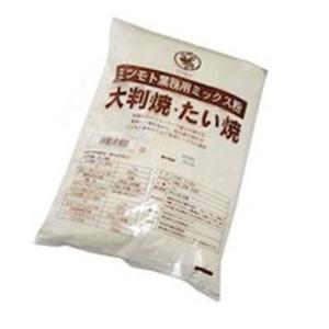 【 即納 】 蜜元 大判焼・たい焼き粉[焼饅頭専用粉]1kg|meicho