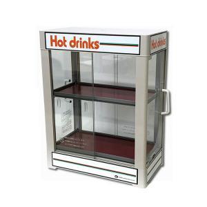 日本ヒーター CW36-R2 電気 缶ウォーマー 2段 350ml/20本収納 【 カンウォーマー 】