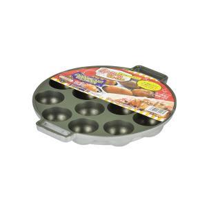 パール金属 おやつDEっSE ふっ素加工たこ焼器14穴|meicho