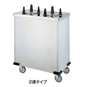 ディッシュディスペンサーカート CD-175W 380×600×854mm|meicho