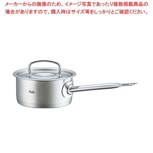 送料無料 ●商品名:フィスラー 18-10浅型ソースパン 84-153[蓋付] 16cm IH対応 ...