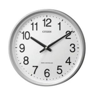 【まとめ買い10個セット品】 シチズン 電波掛時計 サークルポート 4MYA24-019【 メーカー直送/代金引換決済不可 】|meicho