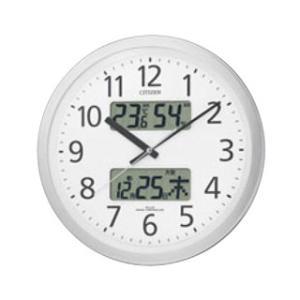 【まとめ買い10個セット品】 シチズン 電波掛時計 パルウェーブカレンダージムF 4FYA06-N19【 メーカー直送/代金引換決済不可 】 meicho