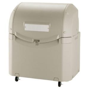 ●使い勝手No.1の大型ゴミ容器。 設置スペースを取らないスリム設計。 軽くて使いやすいフタで開閉ラ...