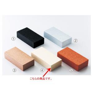 【まとめ買い10個セット品】カラーレンガブロック ベージュ 5個|meicho