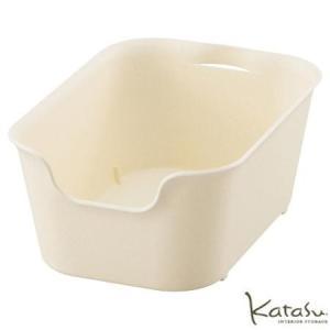 収納ボックスKatasu(カタス) ハコ S ホワイト カラーボックス|meicho