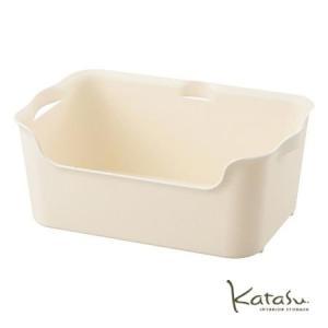 収納ボックスKatasu(カタス) ハコ M ホワイト カラーボックス|meicho