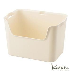 収納ボックスKatasu(カタス) ハコ L ホワイト カラーボックス|meicho