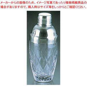 カクテルシェーカー 矢来シェーカー ガラス製  中 meicho