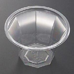 業務用かき氷機用 かき氷カップ プラスチックカップ クリアタンブラー 50個 日本製|meicho