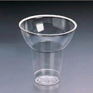業務用かき氷機用 かき氷カップ プラスチックカップ クリアフラワー(小) 25個|meicho