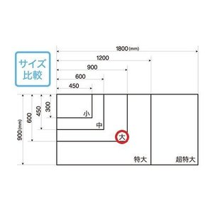 暗線入りマグネットホワイトボードシート    MSHP−6090−M   【 オフィス家具 ホワイト...