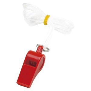 カラーホイッスル 041-055 本体色:赤 銀鳥産業【 事務用品 学童用品 ホイッスル 】