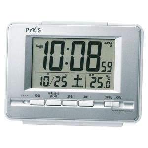セイコー デジタル電波時計 NR535W meicho