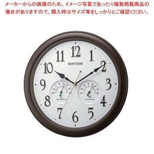 リズム 掛時計 オルロージュインフォートM37 8MGA37SR06【 メーカー直送/代金引換決済不可 】 meicho
