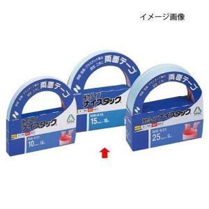 ニチバン 両面テープ ナイスタック 強力タイプ 15mm幅×18m巻