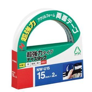 ニチバン 両面テープ ナイスタック 超強力タイプ 15mm幅×2m巻