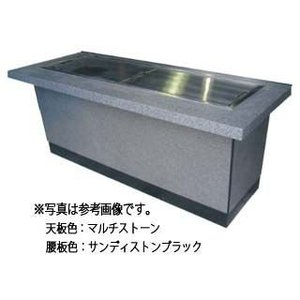 IKK 業務用 お好み焼きカウンター ラインミガキ仕様 IM-8240S 【お好み焼きテーブル グリドル 鉄板焼き器 鉄板焼き機】 メーカー直送/代引不可【納期1ヶ月程】|meicho