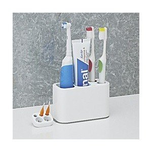 ●便利な歯磨きスタンド!電動歯ブラシ・歯間ブラシ・練歯みがきなどをまとめて収納できます。●パーツは組...