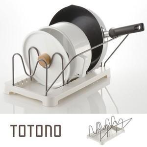 ●大きな鍋やフライパンをすっきり収納します。(直径18〜28cmのフライパン対応)●持ち手が上部にく...