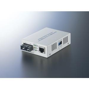 10BASE-T/100BASE-TXを100BASE-FXに変換。オフィスビル・工場・学校・マンシ...