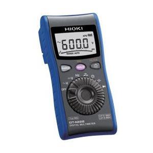 HIOKI/日置電機 現場測定器 デジタルマルチメータ DT4222|meidentsu