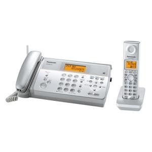 【送料無料】Panasonic/パナソニック デジタルコードレス感熱紙FAX 子機1台タイプ(KX-PW211DL-S)