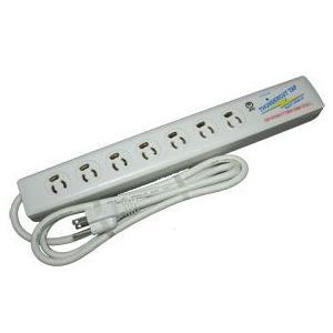 NTT 雷対策 サンダーカット「TAP-7」電源(7個口) 光回線用|meidentsu